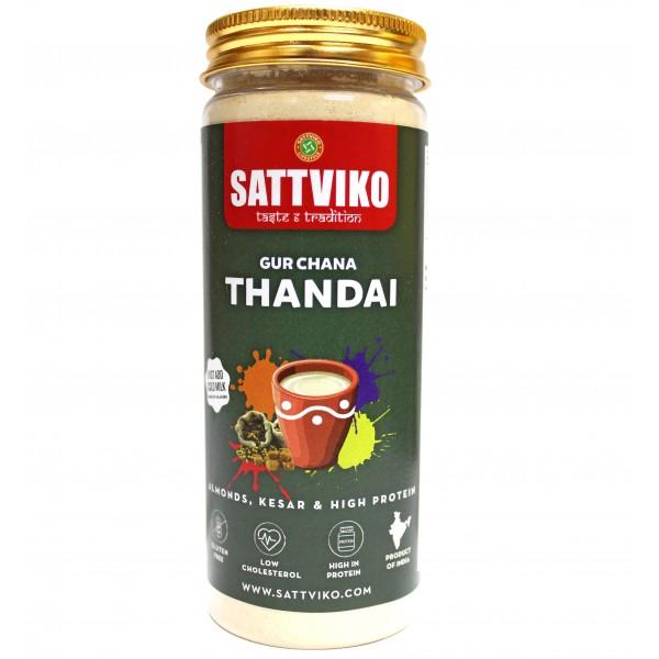 Sattviko Gur Chana Thandai 150g | Sattu Thandai | ...