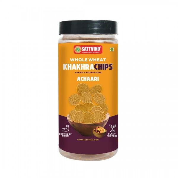 Sattviko - Achari Khakhra Superchips