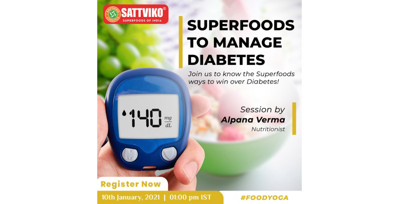 Superfoods of India to Manage Diabetes