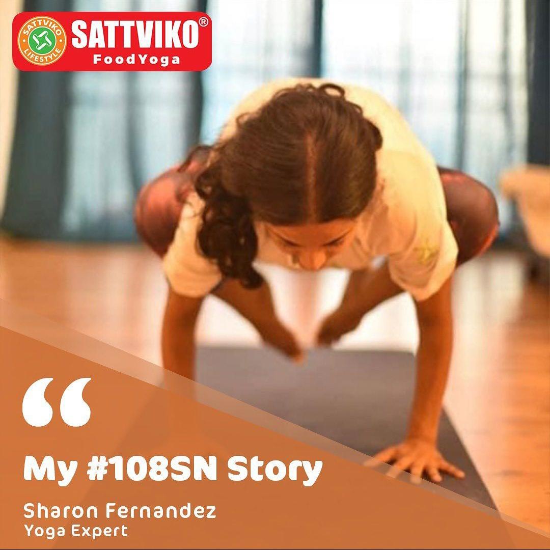 108 Suryanamaskar Story: Sharon Fernandez