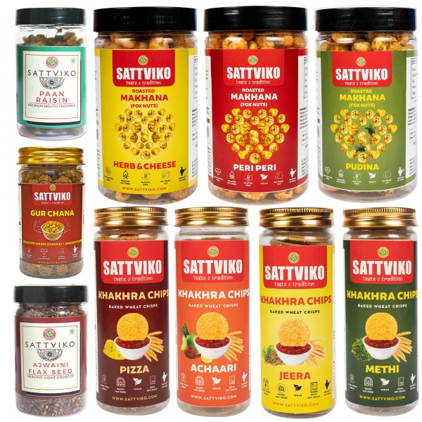 Sattviko Experience Box - All Jars Combo - (Baked ...