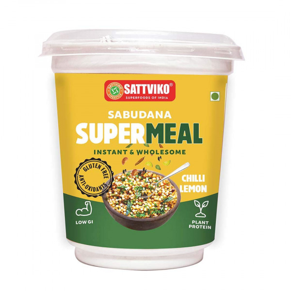Sabudana Supermeal - Chilli Lemon MRP 60