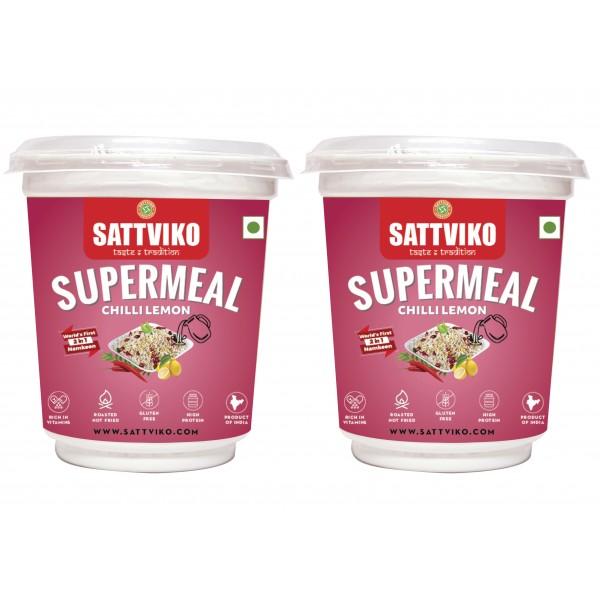 Sattviko Sabudana Supermeal Chilli Lemon (Sabudana...