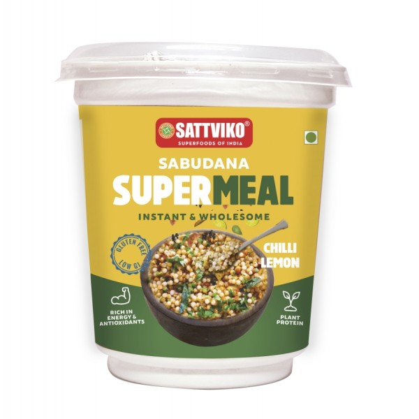 Sabudana Supermeal - Chilli Lemon MRP 50