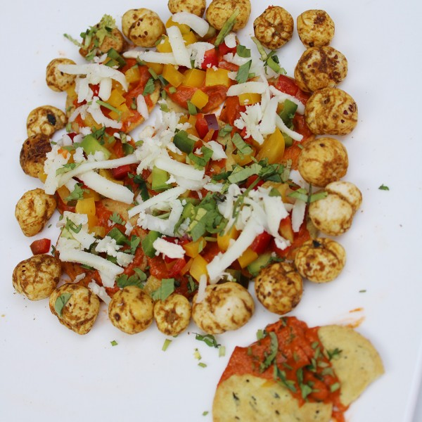 Makhana Cheese Chaat