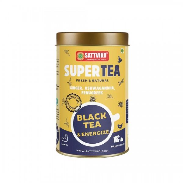 Sattviko TeaYoga – Black Tea (Masala Chai) Energ...
