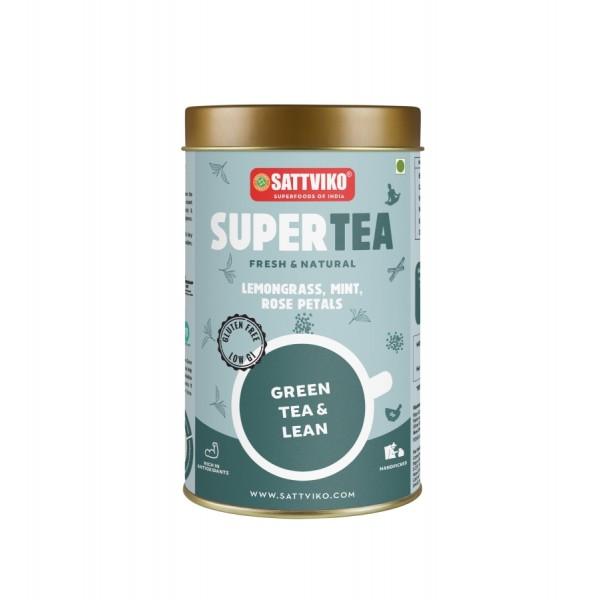 Sattviko TeaYoga - Green Tea Lean, Ayurvedic Blend...