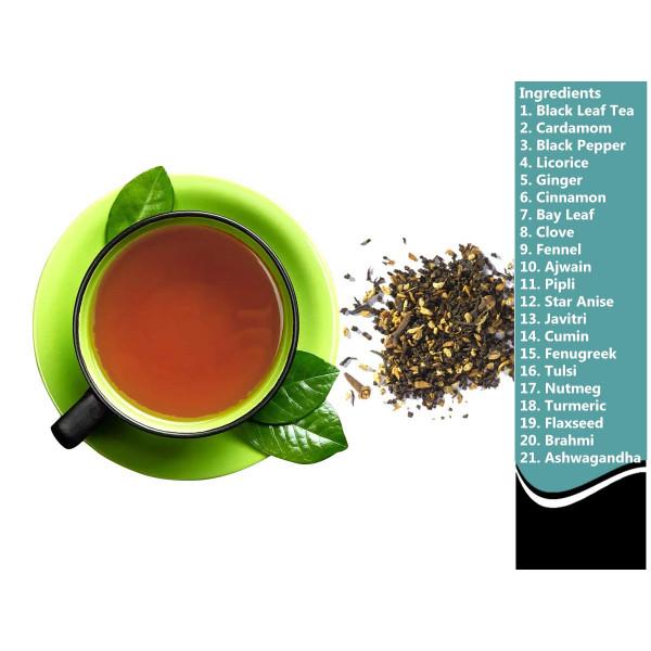 Black Tea Energize -  Fat Burner | Foodyoga - 3 Jars, 4.23 oz each, 12.69 oz