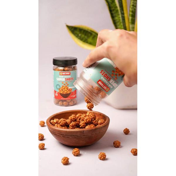 Sattviko Premium Diwali Gift Box   Gur Chana, Dry Mango, Superfruit Paan Raisin