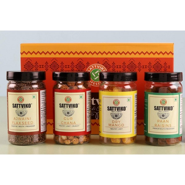 Sattviko Premium Gift Hamper | Diwali Gifts & ...