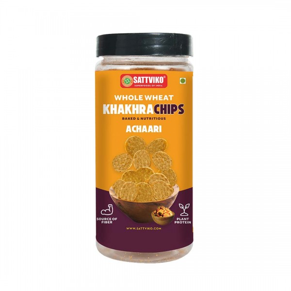 Sattviko - Achari Khakhra Superchips