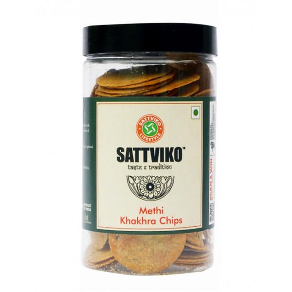 Sattviko - Jeera Khakhra Chips