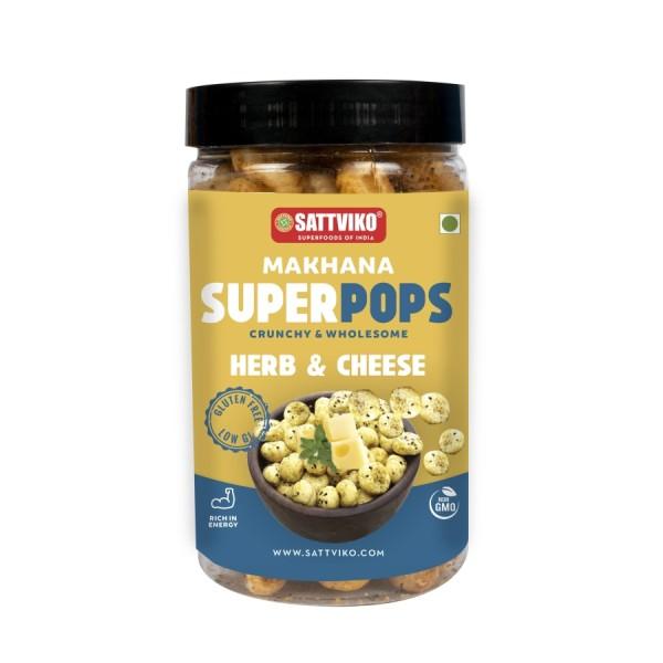 Sattviko - Herbs & Cheese Makhana Superpops