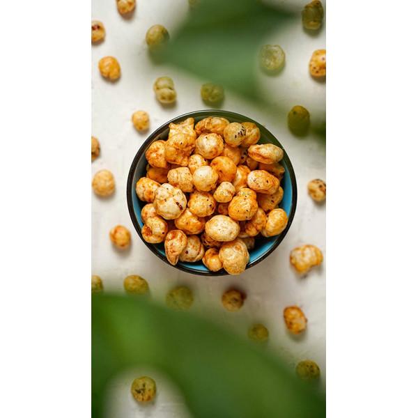 Mint Waterlily Superpops 3 Jars of 2.47 Oz each, 7.41 Oz | Pudina Makhana | Foodyoga