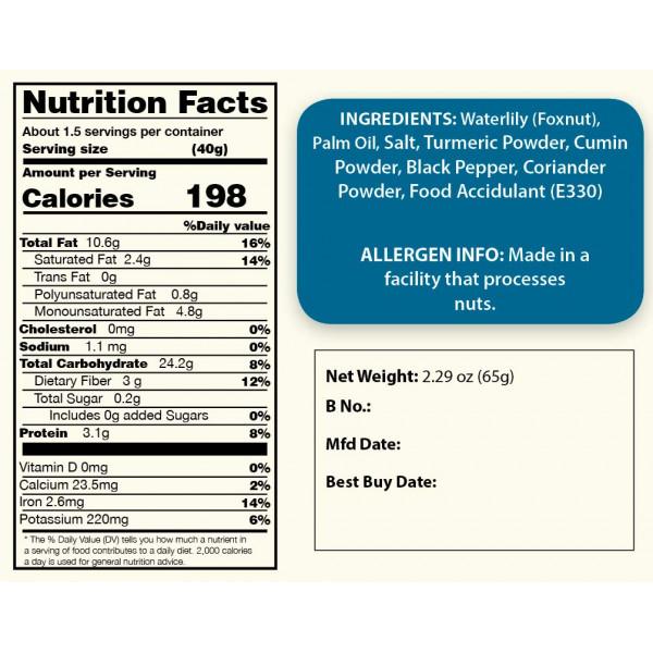 Turmeric Water Lily Superpops Healthy Snacks, 3 Jars Of 2.47 Oz Each, 7.41 Oz | Foodyoga