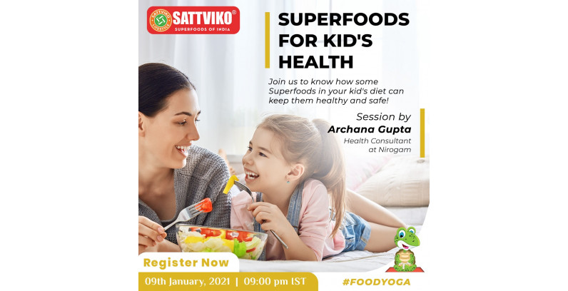 Liv Sattviko Talks, Superfoods for Kid's Health